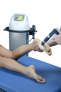 treating heel pain with shockwave therapy