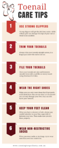 toenail and feet care tips