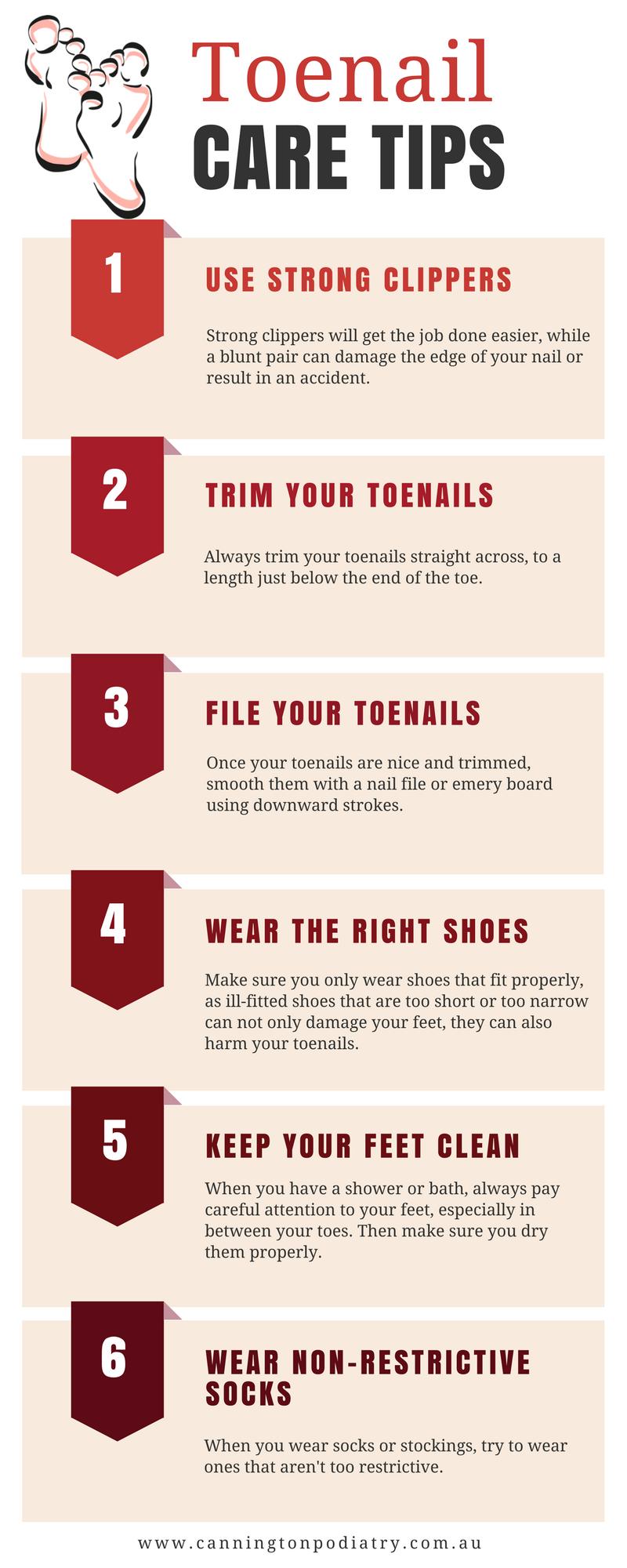 toenail care tips