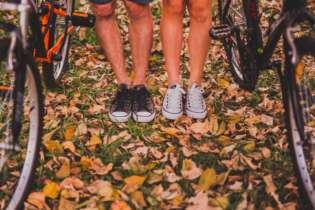legs and bikes